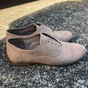 Target DV Oxford Loafers - Beige - Size 6
